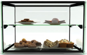 Anvil SAYL 550mm Counter Top Two tier Ambient Display