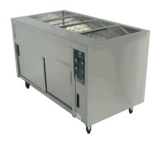 Culinaire Bain Marie With Hot Cupboard 4 Module