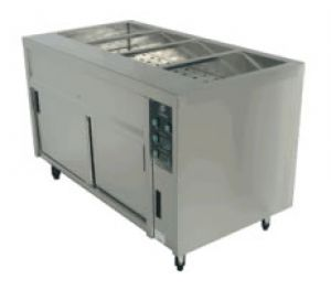 Bain Marie With Hot Cupboard