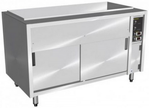 Culinaire Under Bench Bain Marie With Hot Cupboard 4 Module