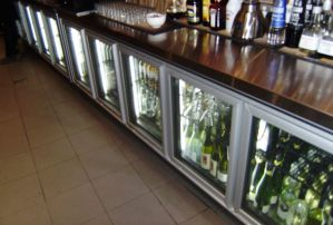 Sovereign Bar with Custom made Back Bar Fridge (1)