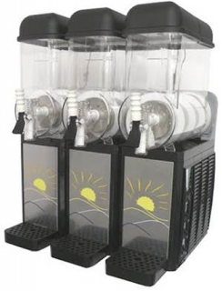Promek Penguin Triple Bowl Slushy Machine