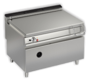 Baron 900 Series 120 Ltr Gas Bratt Pan - Electric Tilt
