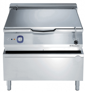 Electrolux 100 Litre electric auto Tilt Bratt Pan with mild steel cooking surface