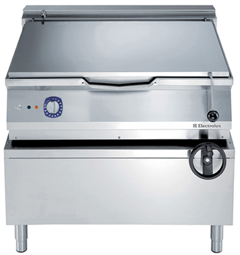 Electrolux 80 Litre electric Bratt Pan with mild steel cooking surface