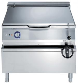 Electrolux 100 Litre electric Bratt Pan with Compound Base cooking surface
