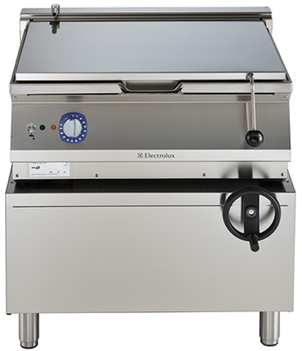 Electrolux 60 Litre electric Bratt Pan with mild steel cooking surface