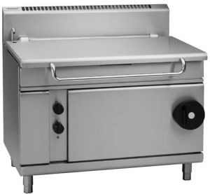 Waldorf gas manual tilting Bratt Pan 120 Litre