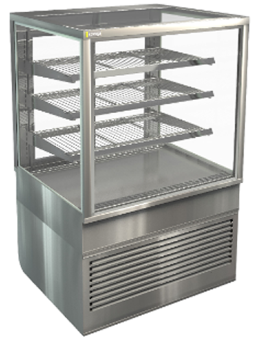 Cossiga Square Tower 900mm Refrigerated Display