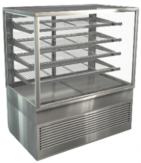 Cossiga Square Tower 1200mm Refrigerated Display with 4 shelves