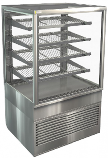 Cossiga Square Tower 900mm Refrigerated Display with 4 shelves