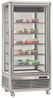 Tecfrigo Snelle 650 GS Vertical Cake & Sandwich Glass Display