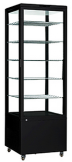 Como 500 Vertical Cake & Sandwich Display Black