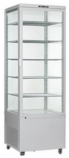 Como 500 Vertical Cake & Sandwich Display White