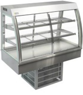 Cossiga 1200mm Wide Self Serve Counter Top Refrigerated Display
