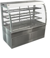 Cossiga Curved Self Serve 1200mm Refrigerated Display