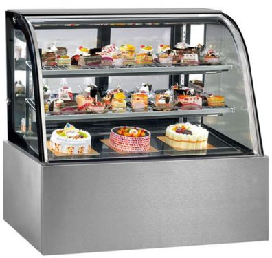 Fed Thermaster Cg090fa 2xb 900mm Wide Cake Display