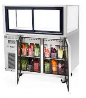 Skipio Bakery Display Case With Drinks Storage SB1200-NSB