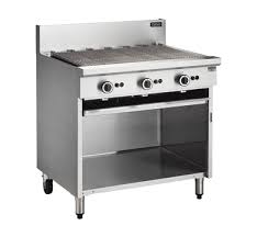 Cobra Gas Barbeque on open Cabinet CB9