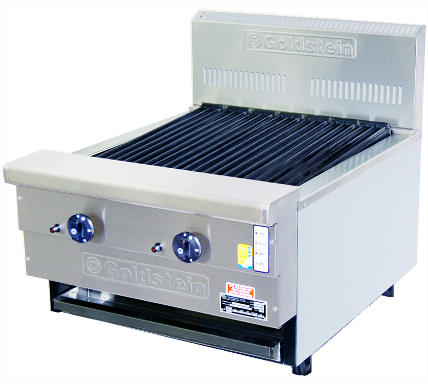 Goldstein 800 series 610mm Wide Gas CharGrill