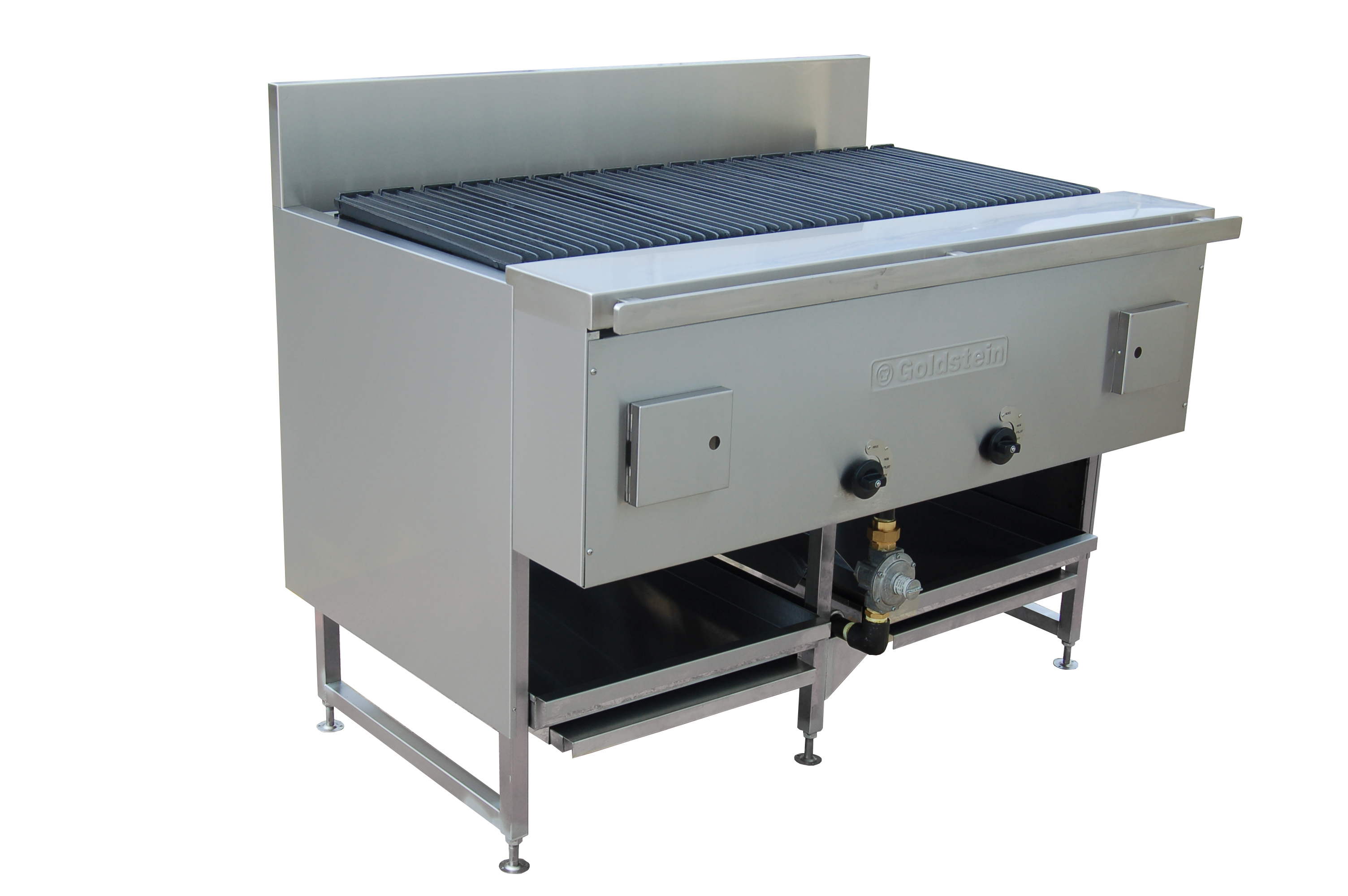 Goldstein 800 series 1220mm Wide Gas CharGrill