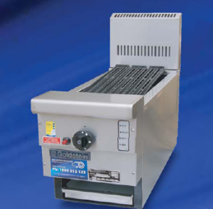 Goldstein 800 series 305mm Wide Gas CharGrill