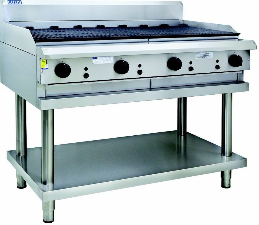 LUUS 900MM WIDE BBQ & SHELF
