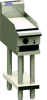 LUUS 300MM WIDE GAS GRIDDLE on stand