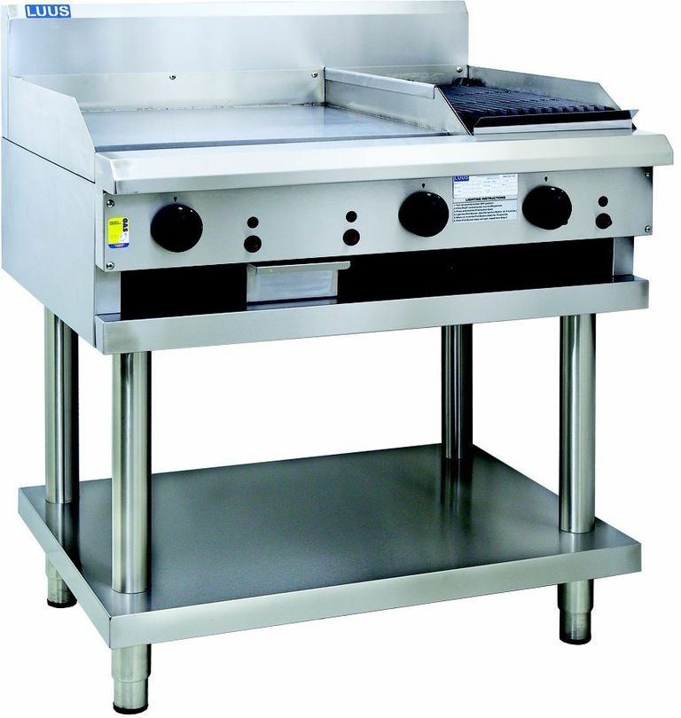 LUUS 300MM BBQ 300MM GRILL & SHELF