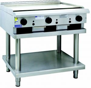 LUUS 900mm gas Griddle on stand