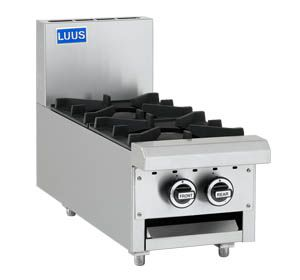 LUUS 2 BURNER BENCHTOP 300MM WIDE