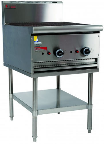 Trueheat 600mm wide gas Barbeque on Stand