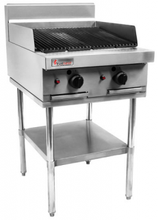 Trueheat RC Series Infrared Gas Barbeque 600mm Wide On Stand