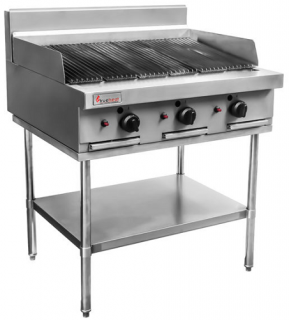 Trueheat RC Series Infrared Gas Barbecue 900mm Wide On Stand