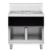 Waldorf Bold Series Solid Fuel Chargrill on Cabinet Base 1200mm Wide
