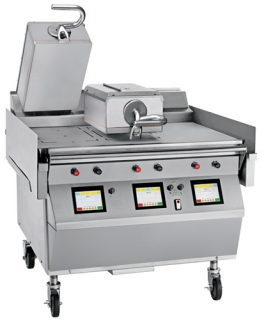 Taylor electric High Speed two Platen triple cooking zone Clamshelll Grill