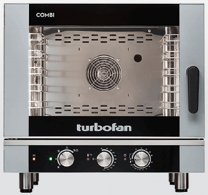Turbofan Manual 5 x 1/1 GN electric Combi Oven