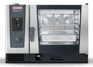 Rational iCombi Classic 6 x 2/1 GN Tray Gas Combi Oven