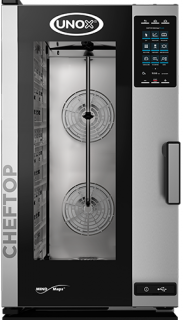 Unox ChefTop Plus Electric Combi Oven 10 GN 1/1 Compact