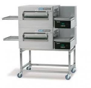 Lincoln 1154 Impinger II Fastbake Gas Full Belt Double deck Pizza Conveyor Oven