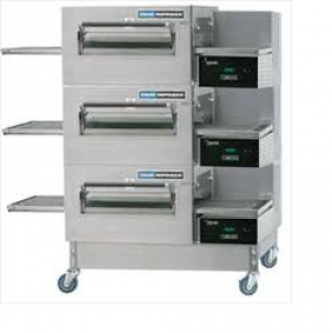 Lincoln 1154 Impinger II Fastbake Gas Full Belt Triple deck Pizza Conveyor Oven