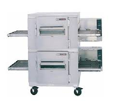 Lincoln 1455-2 Impinger I Fastbake 3 Phase Electric full Belt Double deck Pizza Conveyor Oven