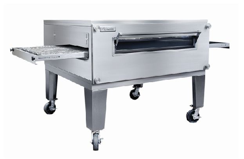 Lincoln 3255-2 Impinger Fastbake Gas full Belt Double deck Pizza Production Conveyor Oven