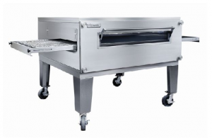 Lincoln 3255-1 Impinger Fastbake Gas full Belt Single deck Pizza Production Conveyor Oven