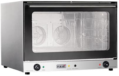 FED Convectmax 4 tray electric convection Oven with press button steam