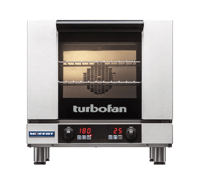 Turbofan electric 3 half size Tray Digital Control Convection Oven