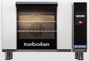 Turbofan electric 3 half size Tray Touch Screen Control Convection Oven
