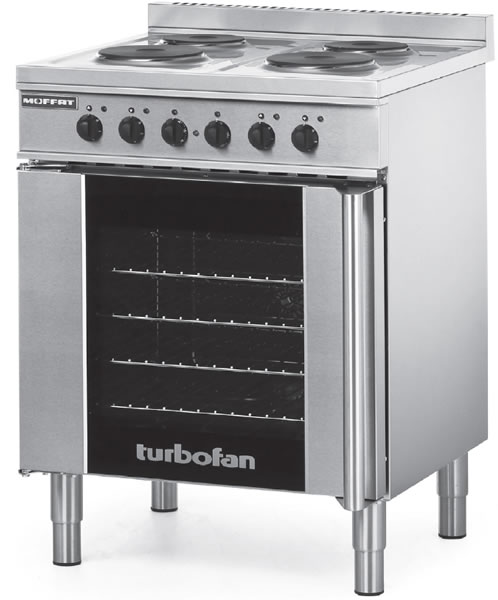 Turbofan Electric 4 Element Convection oven E931M