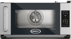 UNOX Bakerlux SHOP Pro Touch Convection Oven With Humidity 3 Tray 600 x 400 Left Opening
