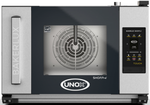 UNOX Bakerlux SHOP Pro Touch Convection Oven With Humidity 3 Tray 460 x 330 Left Opening